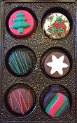 Christmas Chocolate Covered Oreos 20% Off When You Purchase 4