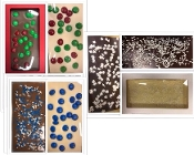Holiday Chocolate Bars 4 pack