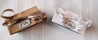 Two Piece Chocolate Favor Box