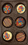 Autism-Themed Boxed Chocolate Covered Oreos