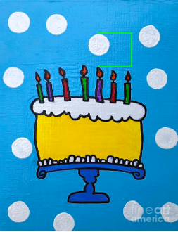 Happy Birthday Card by Sean Brushingham an artist with autism